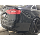 REAR SIDE SPLITTERS AUDI S4 B8 FACELIFT (2012-UP)