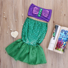 2-Piece Mermaid Costume for Girls