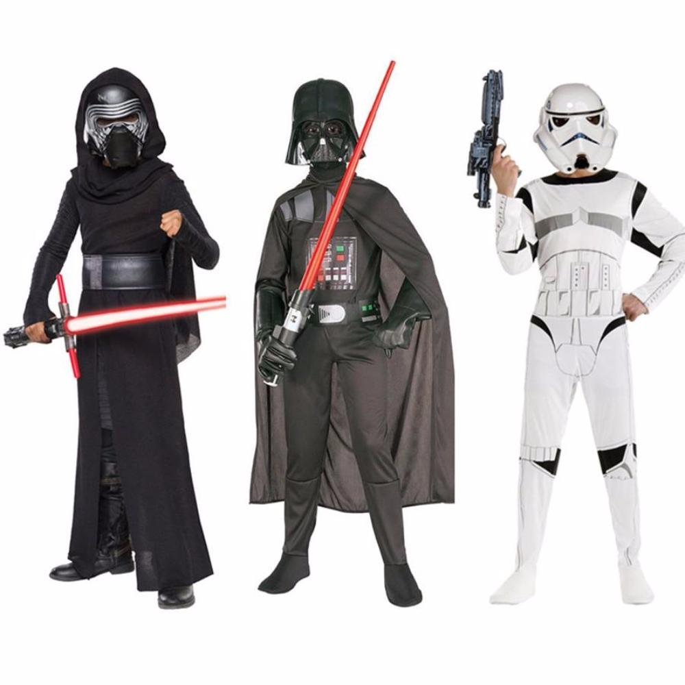 Star Wars Halloween Costumes.Star Wars Halloween Costumes Storm Trooper Darth Vader Anakin Skywalker Kylo Ren