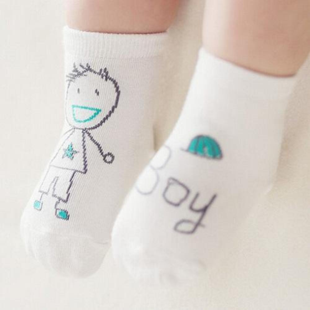 Infant & Toddler Anti-slip Cotton Baby Socks - Playful