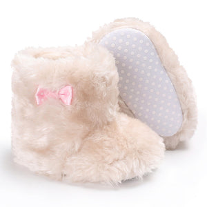 Baby Girl Soft Sole Crib Booties