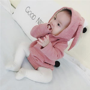 Hooded Bunny Romper