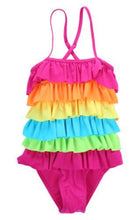 rainbow swimsuit for babies toddlers girls