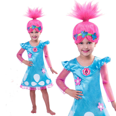 Trolls' Princess Poppy Costume for Girls