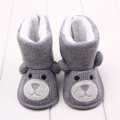 Soft Sole Baby Bear Booties