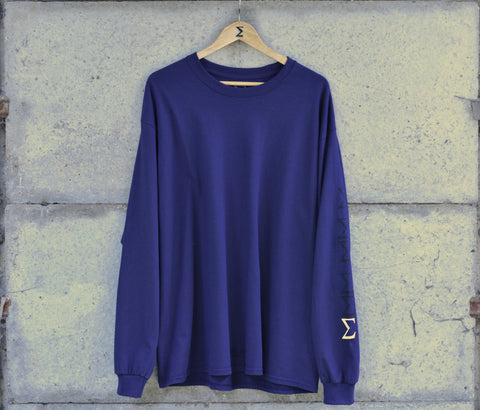 'M-6' Long Sleeve Top
