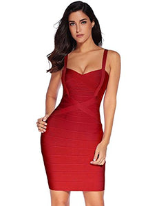 Women's Celebrity Bandage Bodycon Pencil Dress
