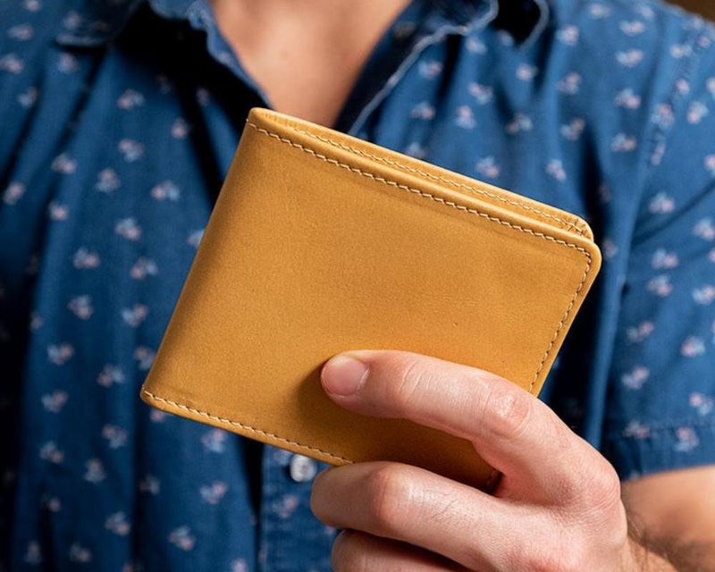 Cool men's leather wallets