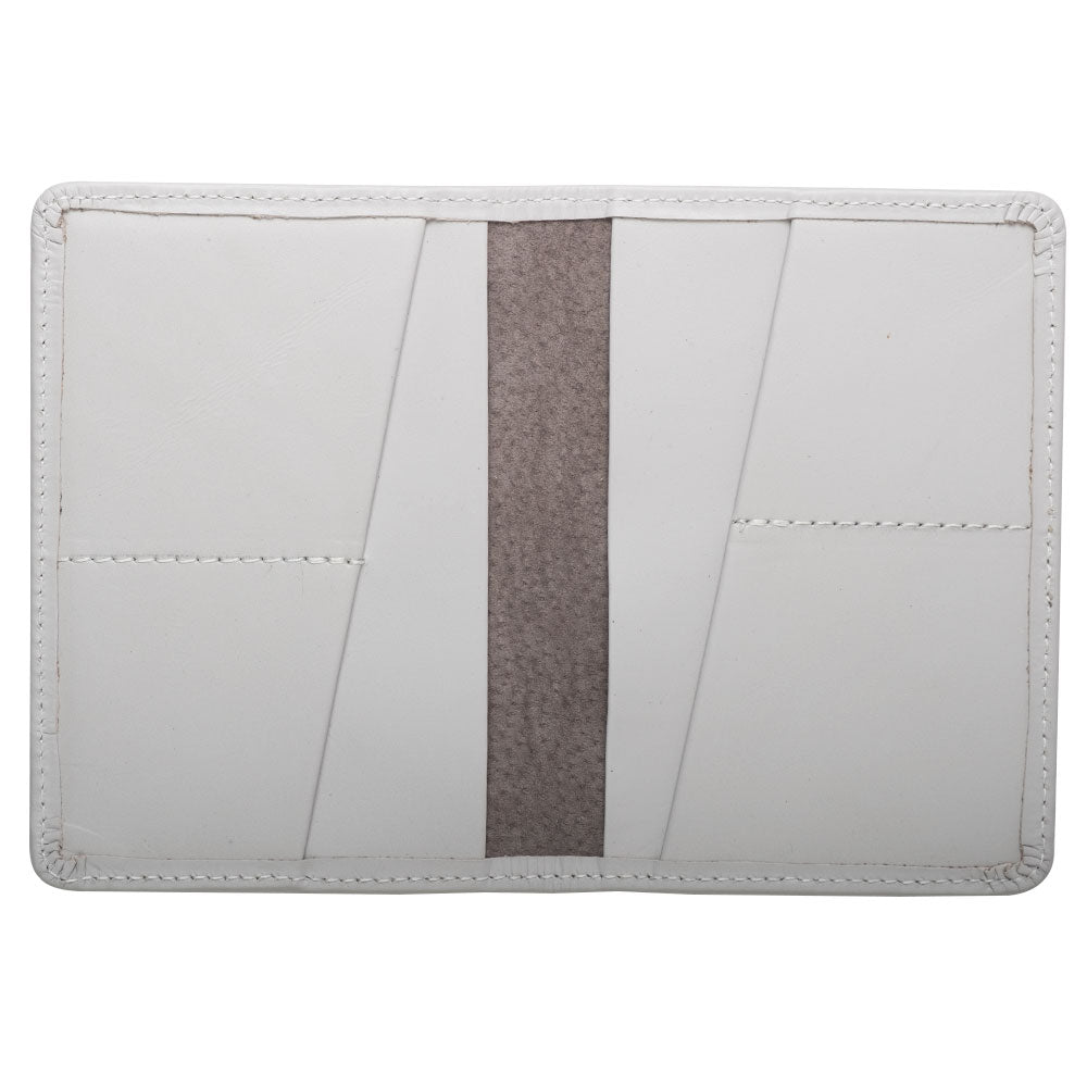 white leather wallet for passport