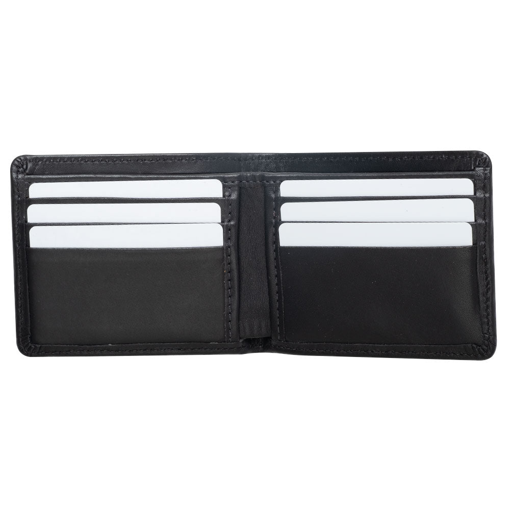 premium large leather wallet for men