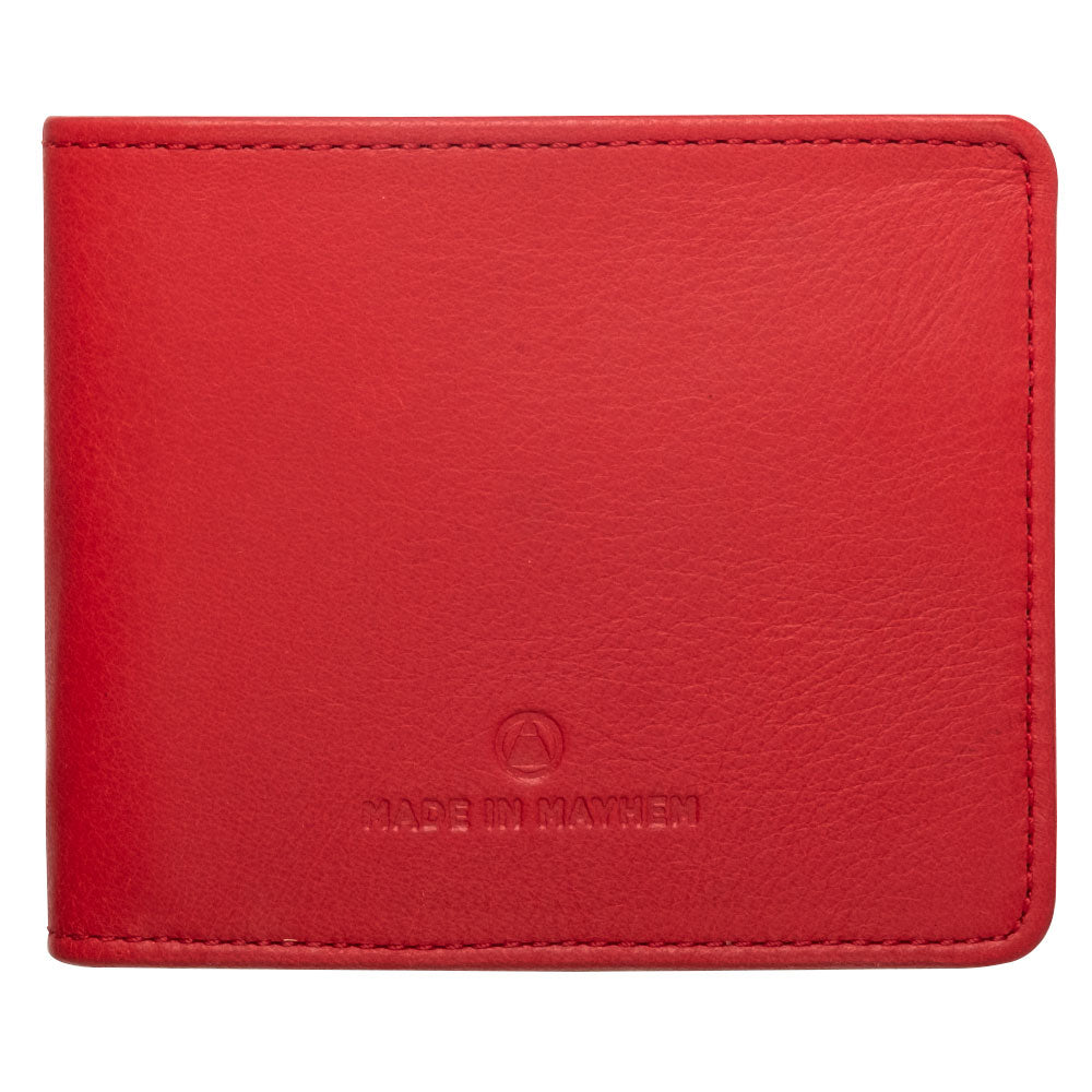 large red wallet for men