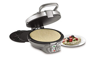 Cuisinart CPP-200 International Chef Crepe/Pizzelle/Pancake Plus, Stainless Steel