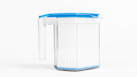 the coldwave from the side, to instantly make great tasting iced tea, the ultimate beverage chiller
