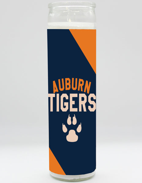 Auburn Tigers Candle