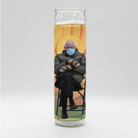 Bernie Sanders ala Chair Candle