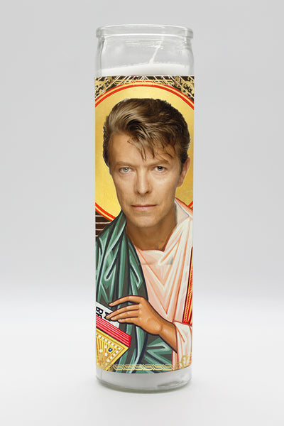 David Bowie Candle