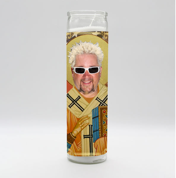 Guy Fieri Candle