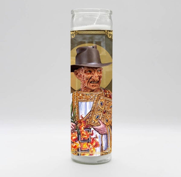 Freddy Krueger Candle
