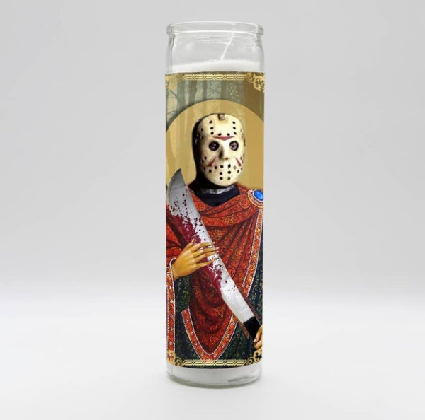 Jason Voorhees Candle