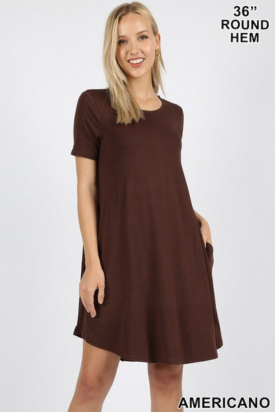Crewneck Premium Cotton Dress