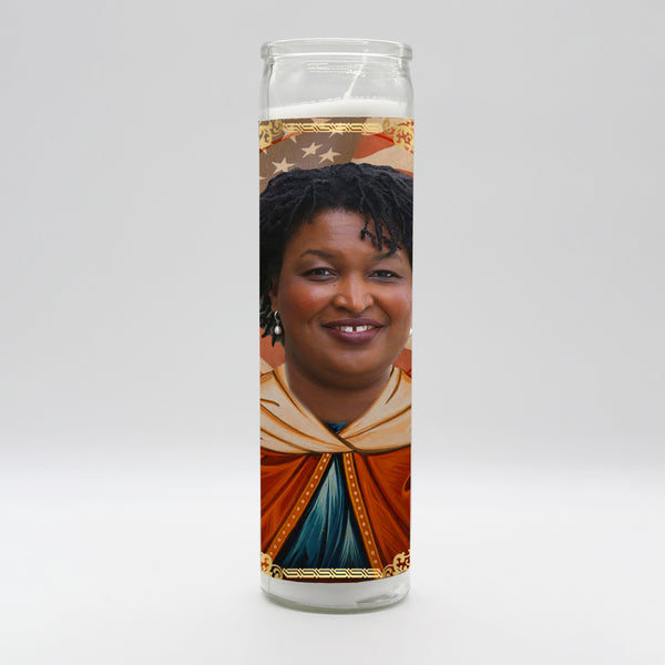 Stacey Abrams Candle