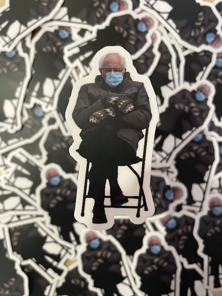Bernie Sanders ala Chair Sticker