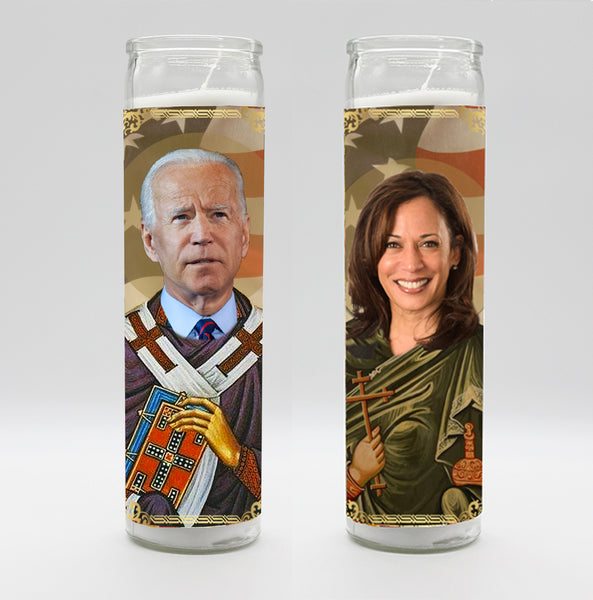 Joe Biden & Kamala Harris Candle Set