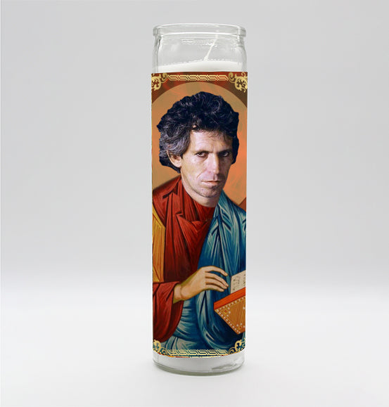 Keith Richards Candle