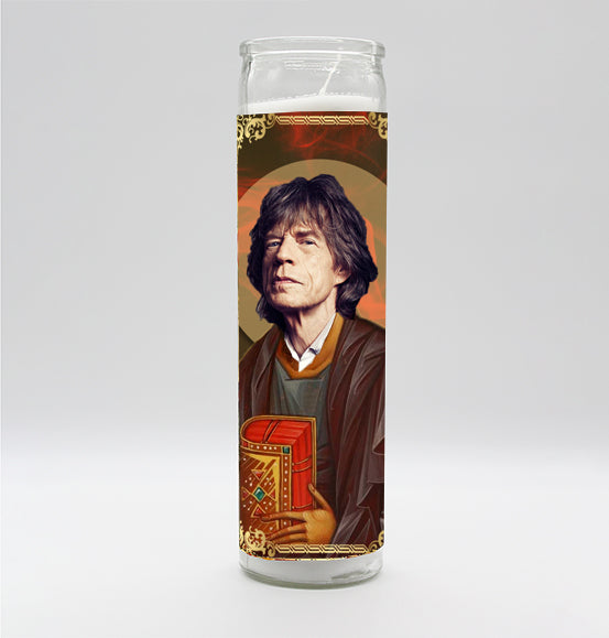 Mick Jagger Candle