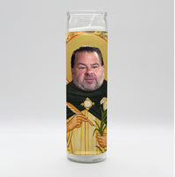 "Big Ed ""No Neck Ed"" Candle"