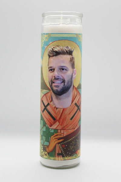 Ricky Martin Candle