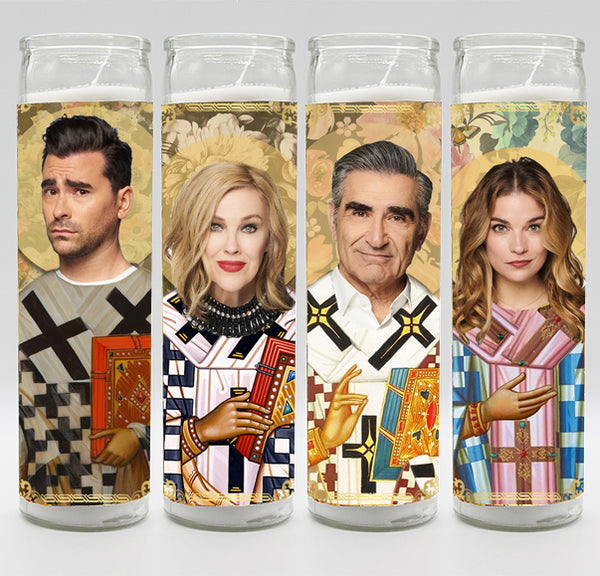 Schitt's Creek - Complete Candle Set