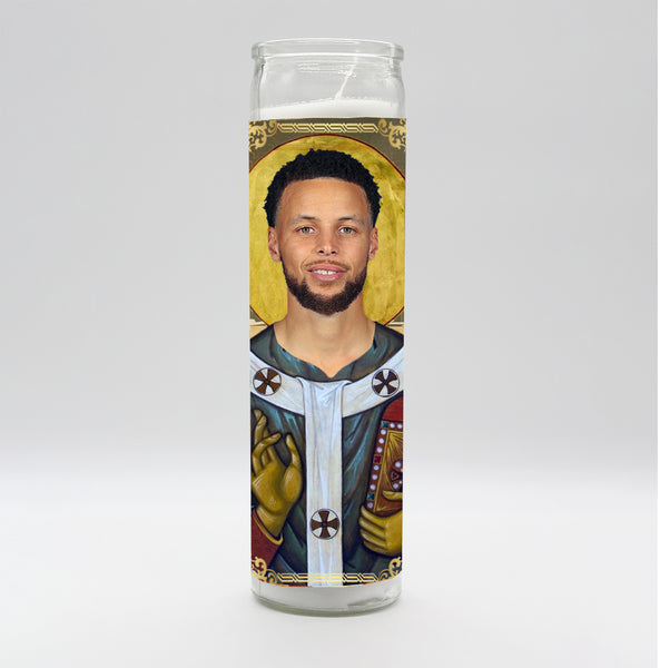 Stephen Curry Candle