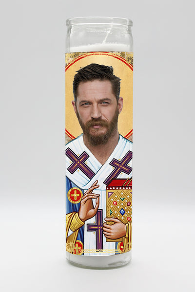 Tom Hardy Candle