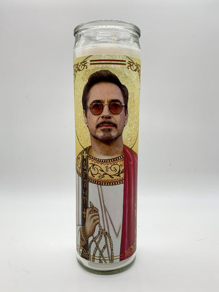 Robert Downey Jr. Candle