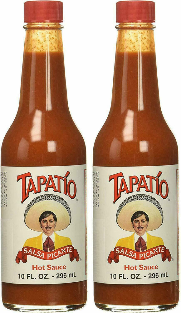 2 Pack Tapatio Salsa Picante Hot Sauce 10 Oz.
