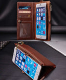 Wallet Flip Card Case For iPhone