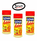 3 Goya Adobo All Purpose Seasoning with Bitter Orange - 8 oz