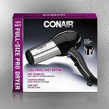 Conair 1875 Watt Full Size Pro Hair Dryer with Ionic Conditioning