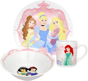 Disney Group Princess 3-Piece Dinnerware Set
