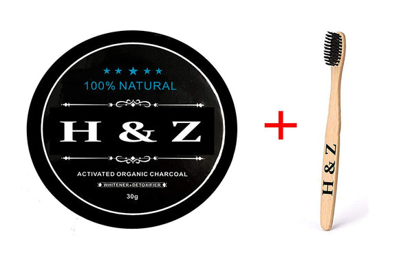 Whitening Charcoal Powder Coconut Activated Stronger Healthy Teeth