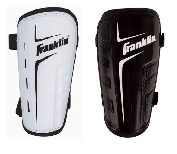 Franklin Sports Superlight Shinguards  Adult Lightweight Symmetric