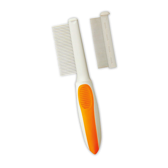 Wahl Home Pet 2 In 1 Flea & Medium Finishing Comb