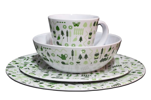 8 PIECE BEWDLEY MELAMINE SET
