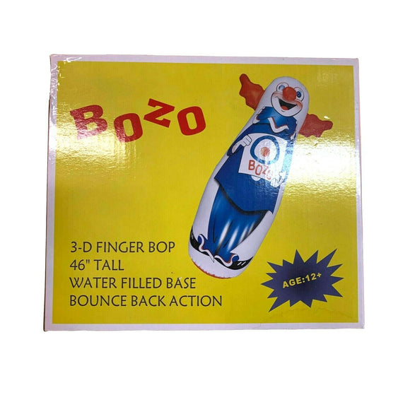 Bozo The Clown Inflatable 3D Finger Bop 46
