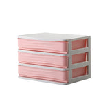 Plastic Cosmetic Drawer Makeup Organizer Jewelry Container Storage