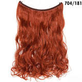 SNOILITE 20 inches long Synthetic Extensions Secret Invisible Hairpieces