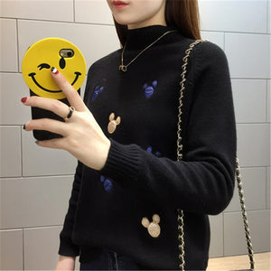 Women Knit Pullover Sweater New Autumn Winter Clothes