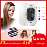 Ionic Electric Hairbrush, 2.0 Portable Electric Ionic Hairbrush