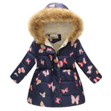Autumn Winter Jackets and Coat Cotton-Padded Girls Clothes